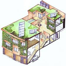 simple efficient house plans low cost eco friendly homes in kerala mud house construction plan