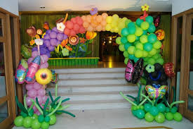 balloon arrangements for birthday balloon decoration kids birthday theme party in delhi noida