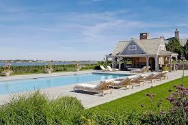 Backyard Cabana Ideas New York Pool Cabana Ideas Beach Style With Shingles Contemporary