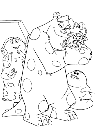 coloring pages monsters download free printable coloring pages