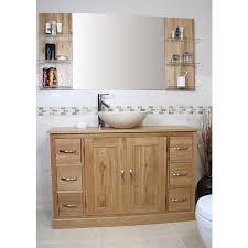 Oak Bathroom Vanity Unit Mobel Oak And Marble Bathroom Vanity Unit Best Price Guarantee
