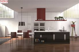 Black Lacquer Kitchen Kitchen Modern With Lacquered Kitchen Yeolab - Black lacquer kitchen cabinets