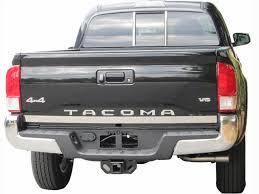 toyota tacoma tailgate toyota tacoma chrome tailgate trim 2016 2017 shopsar com
