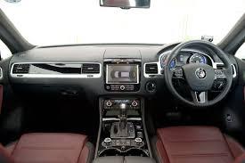 volkswagen touareg interior volkswagen touareg 3 0 v6 tdi u2013 sheer road presence revvvolution