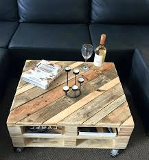 Leather And Wood Coffee Table Wood Pallet Coffee Table Wood Top And White Leg Coffee