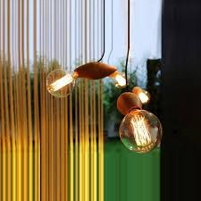 Wooden Pendant Lighting by Modern Ark Wood Pendant Light Creative Lamp Balcony Small Wood