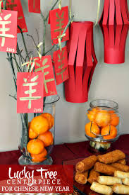 New Year Celebration Decoration Ideas by Lucky Tree Centerpiece For Chinese New Year Celebration Elle