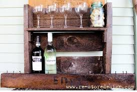 ana white wood pallet wine rack diy projects