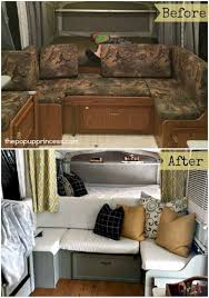 Pop Up Camper Interior Ideas by 42 Amazing Rv Camper Makeover Ideas Before And After Collections