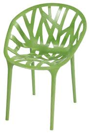 Plastic Stackable Patio Chairs Stackable Outdoor Green Accent Chair Set Of 2 Mm Pc 069 Green
