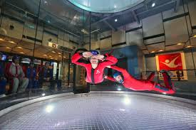 chicago families can fly like birds at ifly indoor skydiving