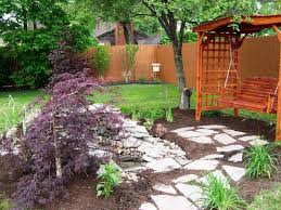 Inexpensive Backyard Ideas Garden Outstanding Backyard Landscaping Ideas On A Budget