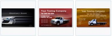 business cards for the automotive industry and vehicle drivers