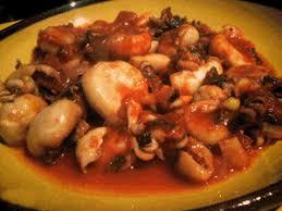 cuisiner le poulpe recettes recette mderbel au poulpes