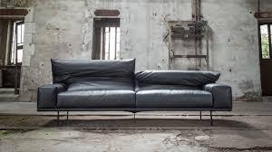 canap haut de gamme en cuir triss fabriquant de mobilier contemporain haut de gamme