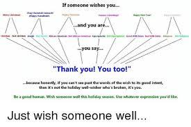 if someone wishes you chag chanukah sameacht happy kwanzaal merry