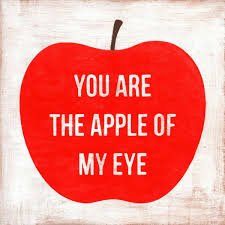 you are the apple of my eye print sugarboo co