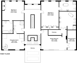 Floor Plan To 3d 6 Bedroom Detached House To Rent In Stanhope Road Bowdon