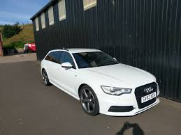 2013 63 plate audi a6 avant s line black edition 2 0l tdi in