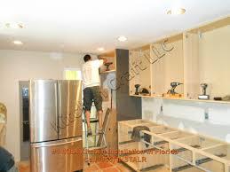Putting Up Kitchen Cabinets Kitchen Cabinet Installation Kitchen Decoration