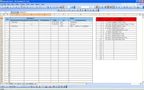 Schedule Excel Templates Tv Schedule Excel Templates