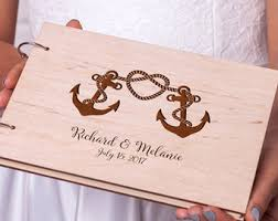 engraved wedding guest book rustic guest book wedding guestbook custom engraved wooden