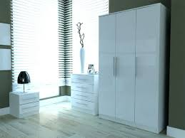 Black High Gloss Bedroom Furniture by Wardrobes White Wardrobe And Chest Of Drawers Set Furniture Joy