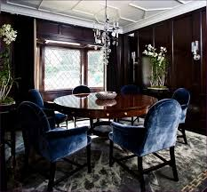 Dining Room  Navy Blue And White Dining Chairs Blue And White - Blue and white dining room