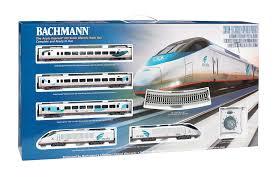 acela express set ho scale 01204 529 00 bachmann trains