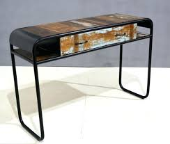industrial console table with drawers industrial console table industrial restoration console table