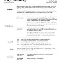 easy basic resume exle basic resume template free resume templates download