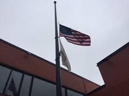 Us Flags At Half Mast Luciano Amid Endless Gun Killings Leave Flags At Half Staff