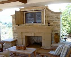 Outdoor Fireplace Houston by Outdoor Fireplace Tv Houzz