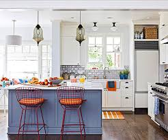bright kitchen color ideas 20 colorful kitchen ideas in small spaces house design and decor
