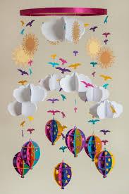 décoration chambre bébé à faire soi même mobile bébé à faire soi même en papier idées et