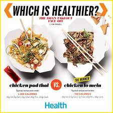 Seeking Pad Thai Which Is Healthier Pad Thai Or Lo Mein Healthy Pad Thai Lo