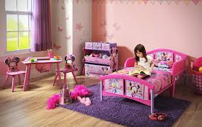 Disney Bedroom Set At Rooms To Go Amazon Com Delta Children Plastic Toddler Bed Disney Minnie