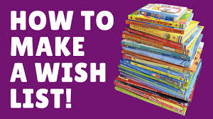 wish list how to make and an usborne wish list