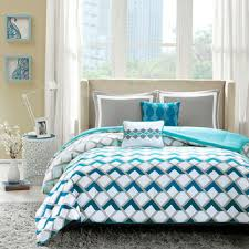 Blue And White Comforters Best White Comforter Sets Products On Wanelo