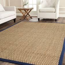 sisal rug with blue border rug designs
