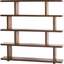 Modloft Pearl Bookcase Modern U0026 Contemporary Walnut Bookcases You U0027ll Love Wayfair