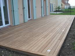 le de terrasse encastrable terrasse en bois au ras du sol dcaissement pour limplanter