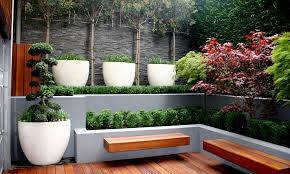 Backyard Planter Box Ideas Urban Garden Planter Boxes Med Art Home Design Posters