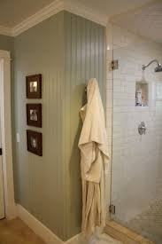 Beadboard Walls And Ceiling by Full Height Beadboard Walls In Bathroom Also Love Paint Color