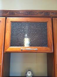 Glass For Kitchen Cabinets Inserts Magnificent Seedy Glass For Kitchen Cabinets Cabinet Insert Image