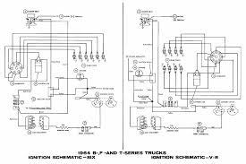 ford b f t series trucks 1964 ignition wiring diagram all