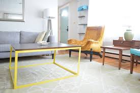 Modern Furniture Diy by Diy Modern Metal Coffee Table Aka The Time I Attempted To Build