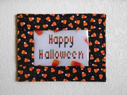 free shipping halloween candy corn fabric photo frame halloween