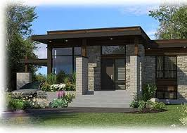 Contemporary Home Design Plan 90262pd Compact Modern House Plan Modern House Plans