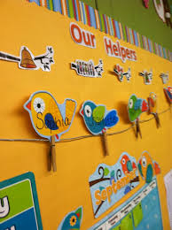 How To Decorate Nursery Classroom Excellent Class Wall Decoration Ideas Gallery Wall Design